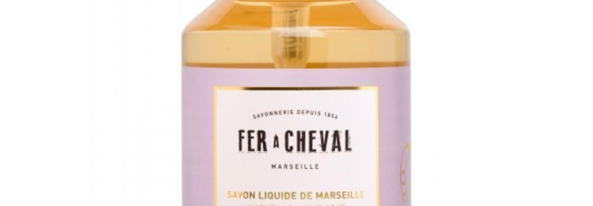 Vloeibare geparfumeerde marseille zeep met lavendel 500ml