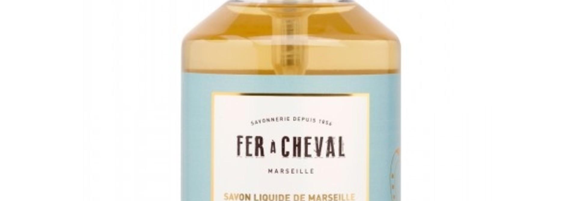Vloeibare geparfumeerde marseille zeep mandarijn 500ml