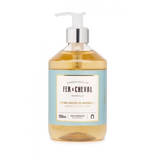 Vloeibare geparfumeerde marseille zeep mandarijn 500ml-1