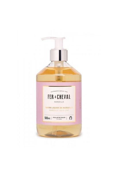 Vloeibare geparfumeerde marseille zeep vijgeblad 500ml