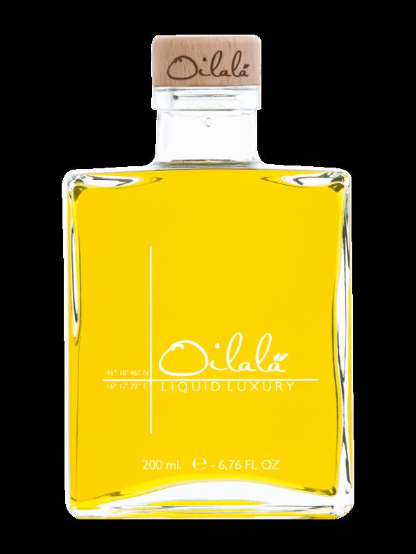 Coratina Oilalà La Vita è Bella olijfolie glas 200ml-2