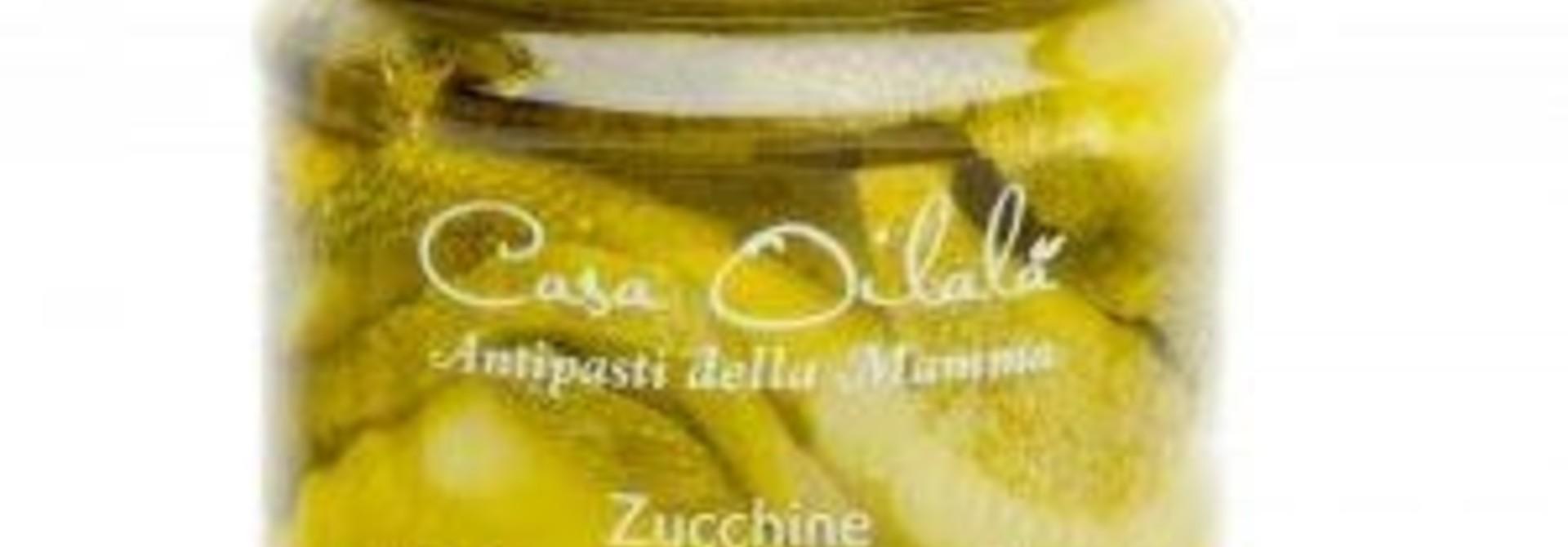 Courgette op olijfolie 190g