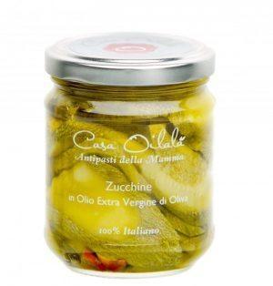 Courgette op olijfolie 190g-1