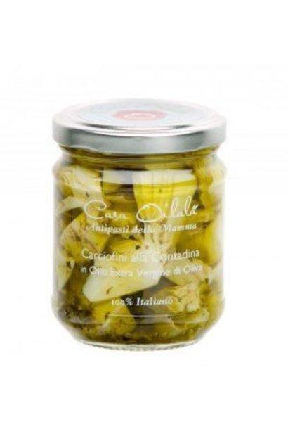 Gegrilde artichok op olijfolie 190g