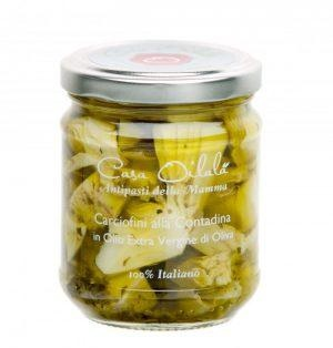 Gegrilde artichok op olijfolie 190g-1