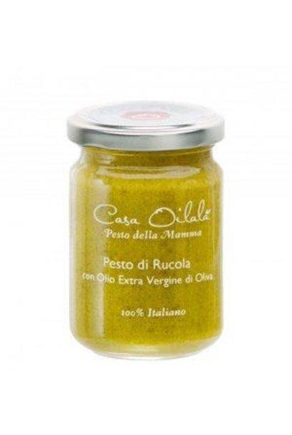 Pesto met rucola en olijfolie 140g