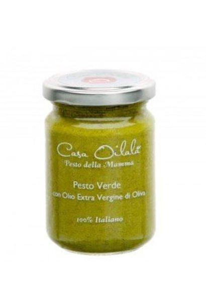 Pesto basilicum met olijfolie 140g