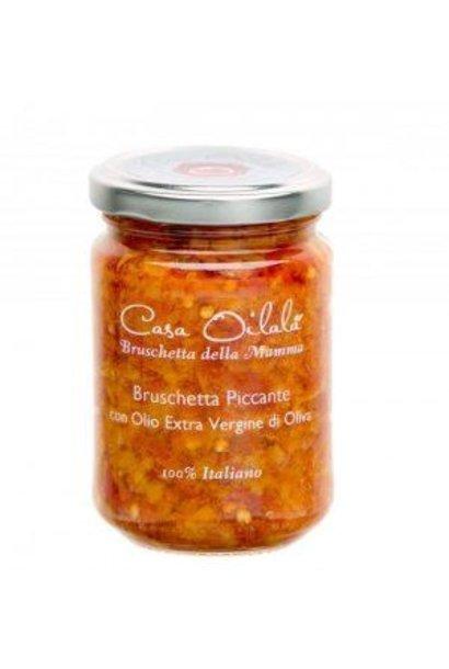 Pikante bruschetta met olijfolie 140g