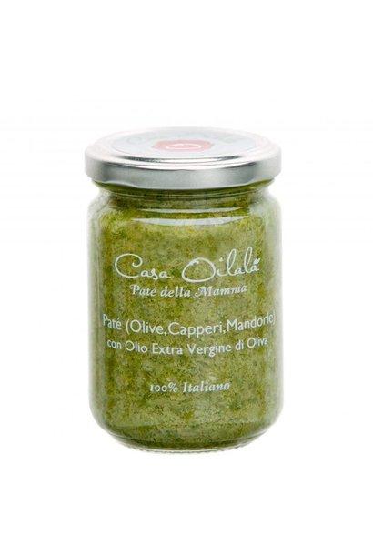 Tapenade olijven, kappertjes en amandelen 140g