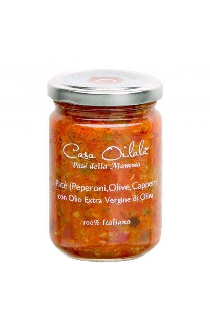Tapenade olijven, kappertjes en paprika 140g