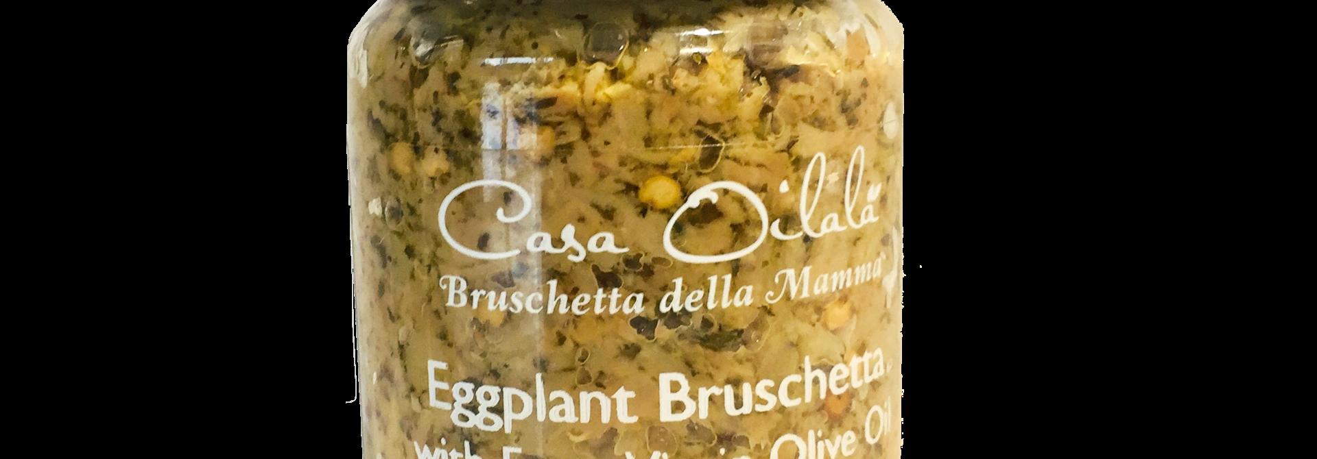 Aubergine bruschetta met olijfolie 140g
