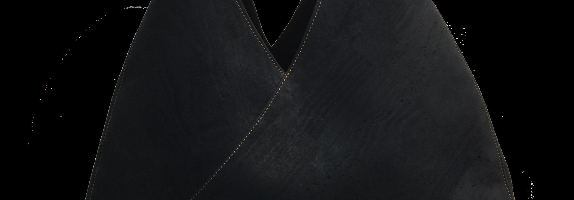 6017.03 Geometrische tas donkerblauw