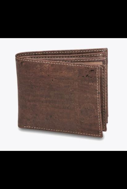 9198.02 Men's wallet chocolat