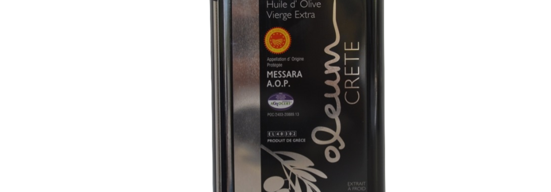 Oleum Extra Virgin olijfolie Blik 3 liter
