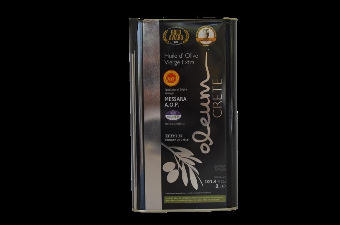 Oleum Extra Virgin olijfolie Blik 3 liter-1