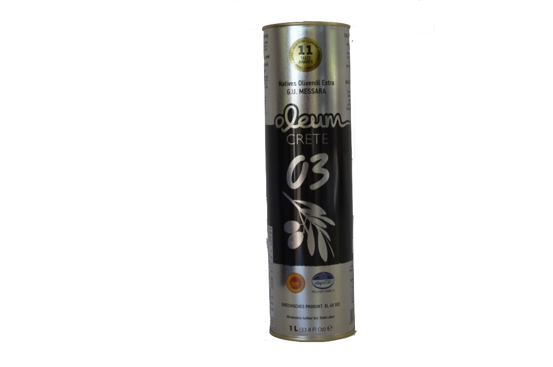 Oleum Extra Virgin olijfolie Blik 1000 ml-1