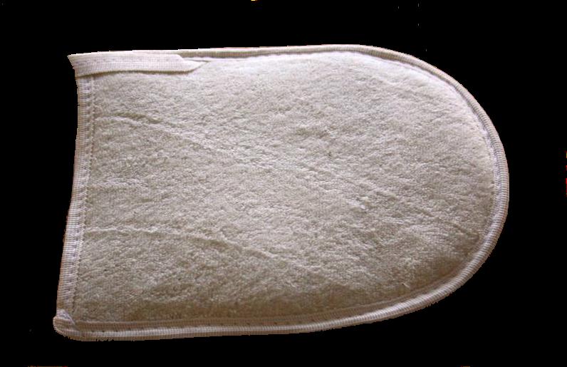 Loofah Cotton Glove-2
