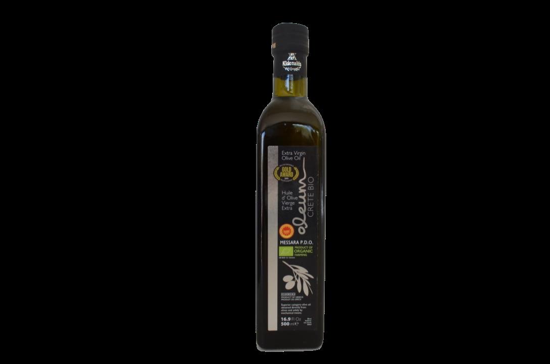 Oleum BIO Extra Virgin olijfolie Glas 500ml-1