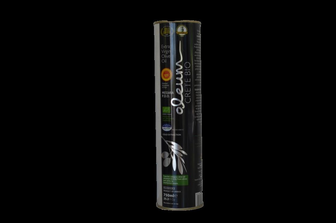 Oleum BIO Extra Virgin olijfolie Blik 750 ml-1