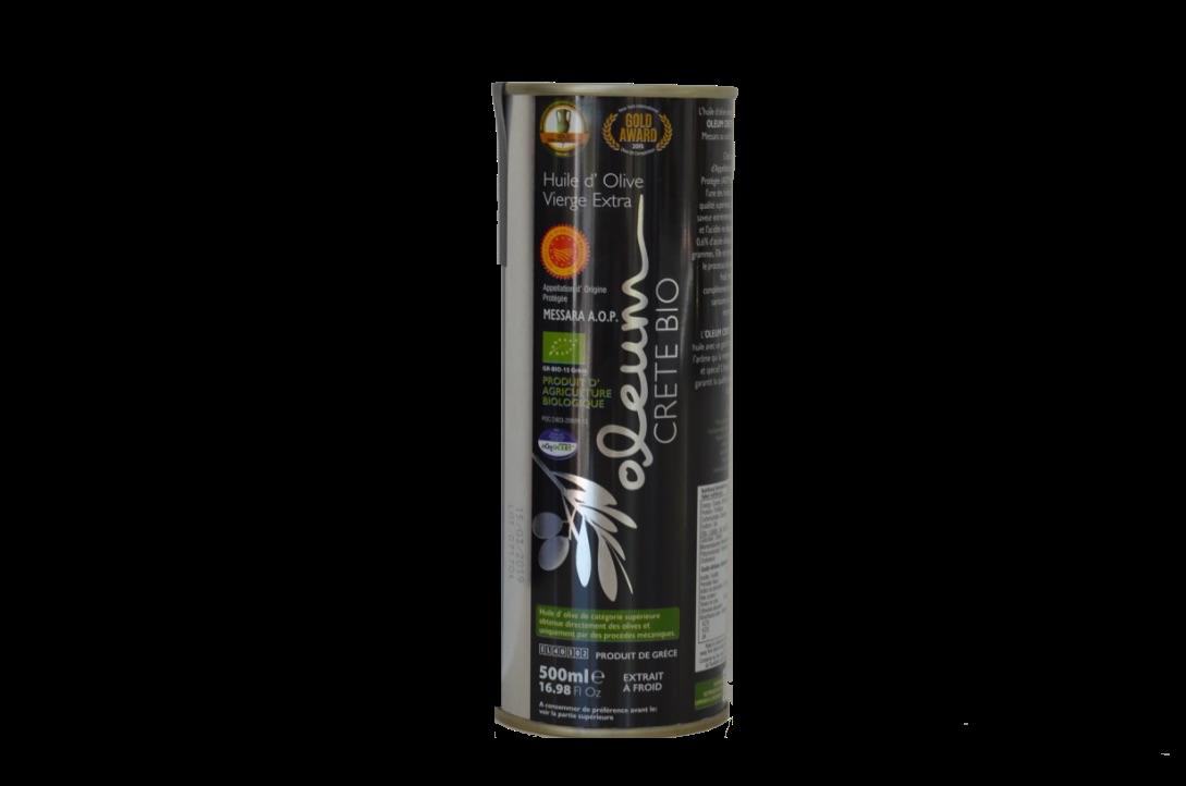 Oleum BIO Extra Virgin olijfolie Blik 500 ml-1