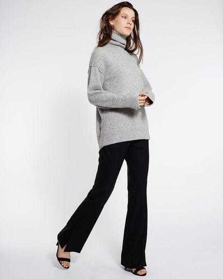 Leah Alpaca Roller / light grey