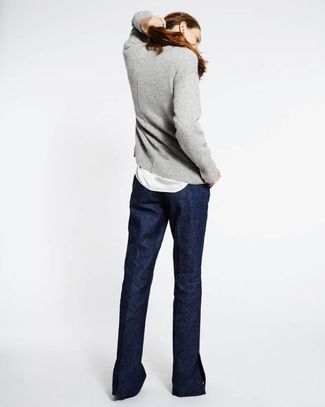 Suzy denim slacks / indigo