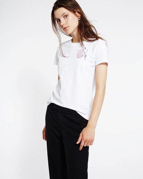 Sammy logo t-shirt / white