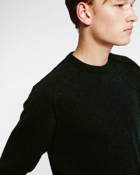 Bobby Raglan Sweater / forest