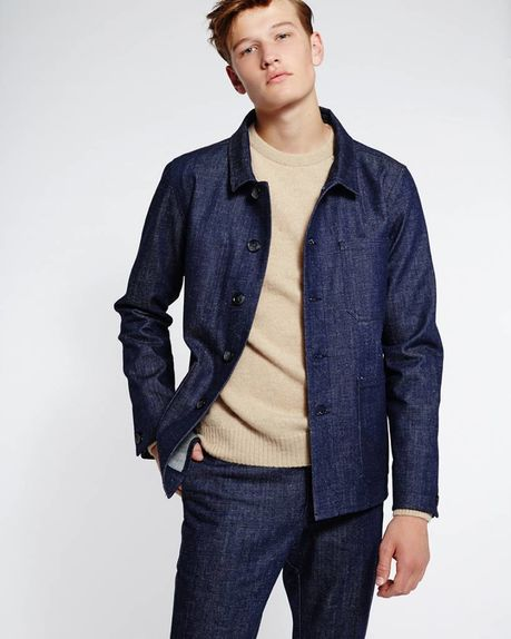 Julien Jacket / indigo