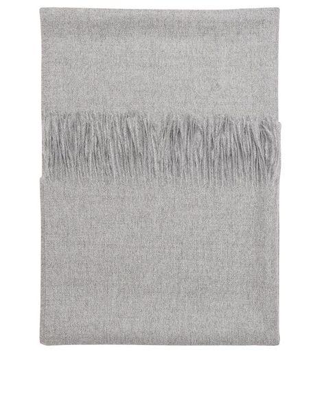 Ludo alpaca scarf / light grey