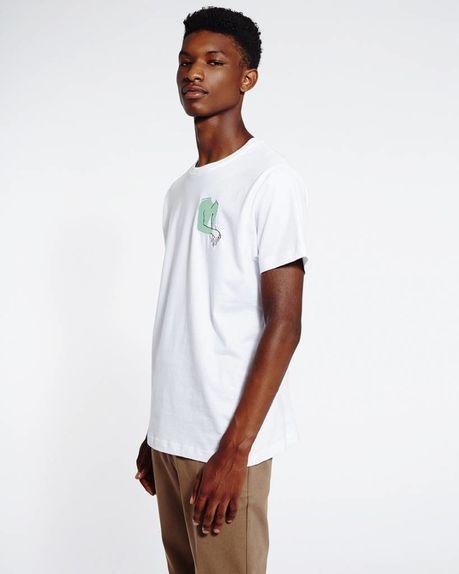 Enzo logo t-shirt / white