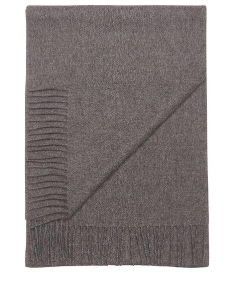 Ludo large alpaca scarf / anthracite