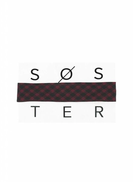 SOSTER Vintage Tie Choker / Givenchy Tartan