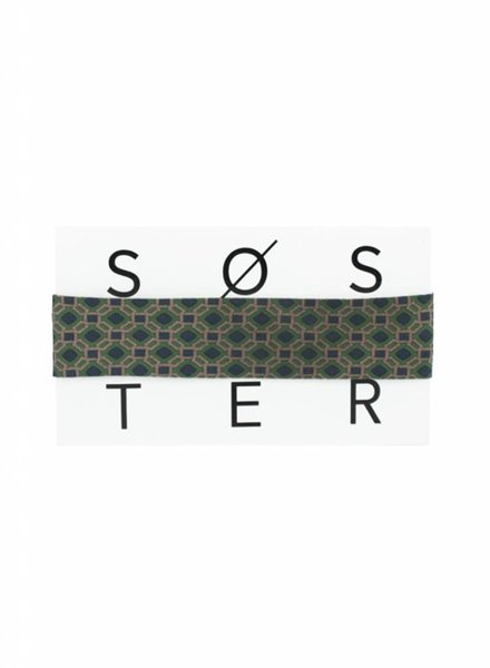 SOSTER Vintage Tie Choker / Chloé Green