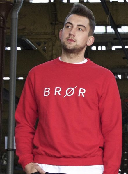 BROR Red Sweater