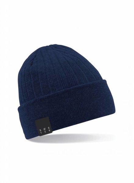 SOSTER Blue Beanie