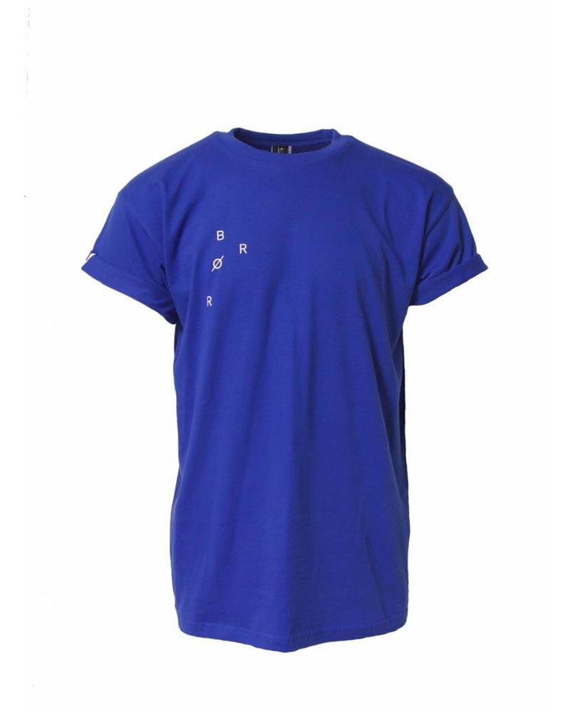 BROR Blue minimal shirt