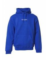BROR blue minimal hoodie