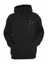 BROR Black hoodie Minimal