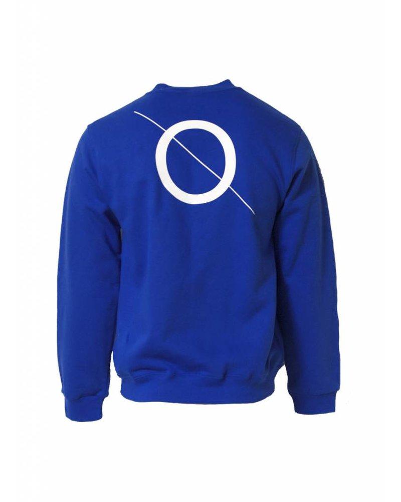 BROR blue sweater