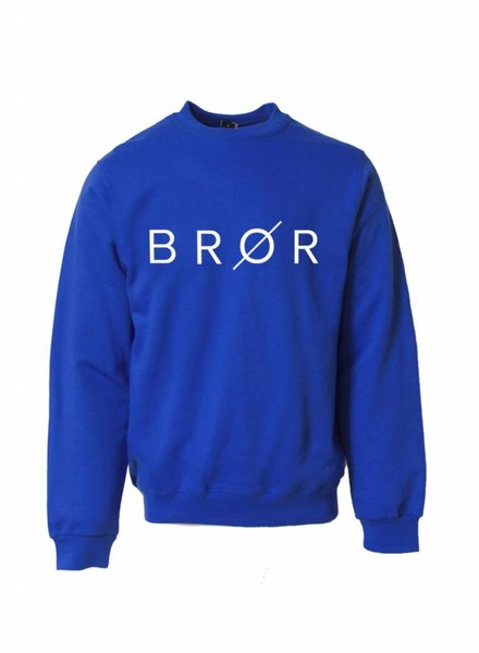 BROR blue sweater