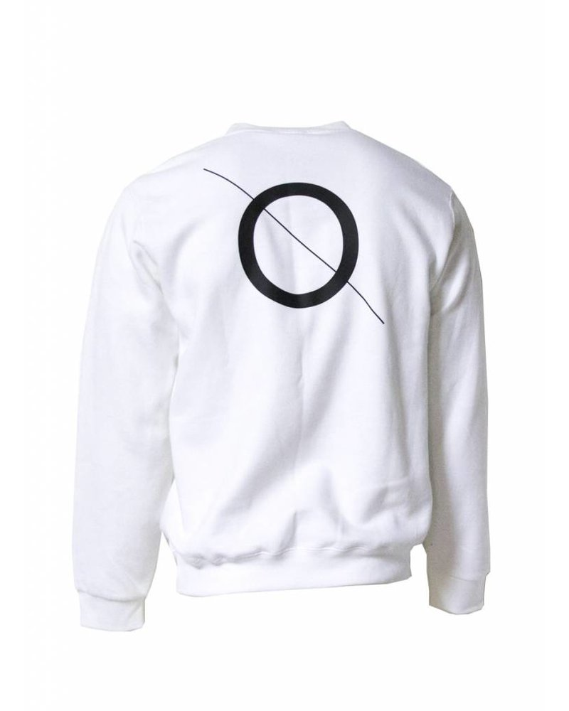 BROR White  Sweater