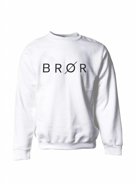 BROR White  Sweater