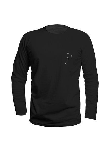 BROR Black Long Sleeve Minimal
