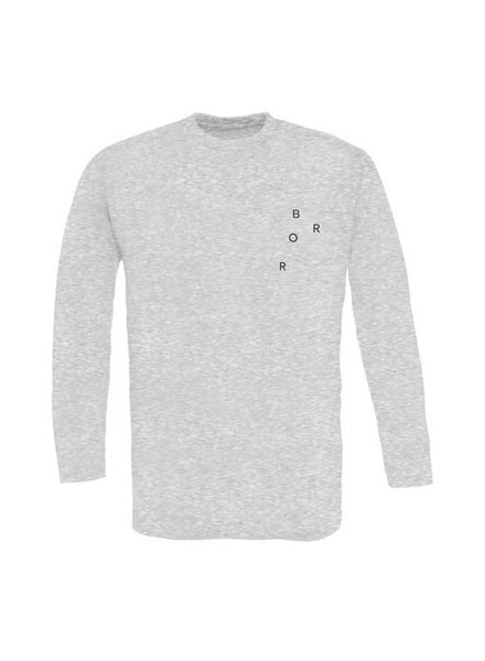 BROR Grey Long Sleeve Minimal