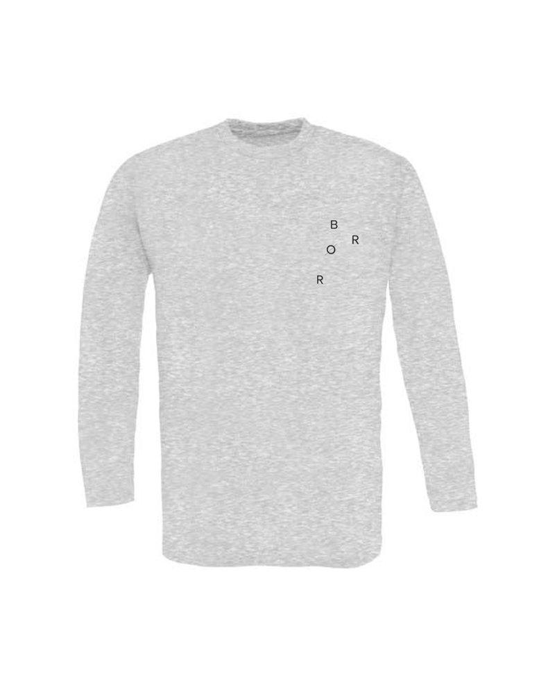 BROR Grey Long Sleeve Minimal