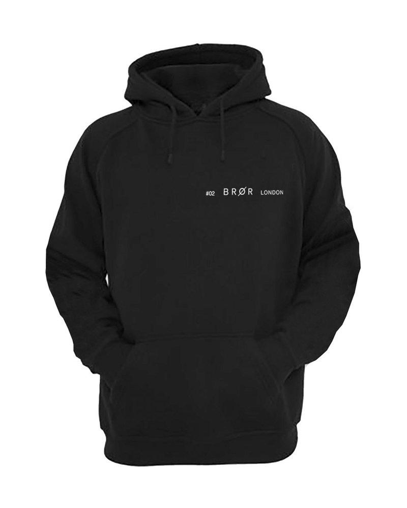 BROR Black hoodie London ticket