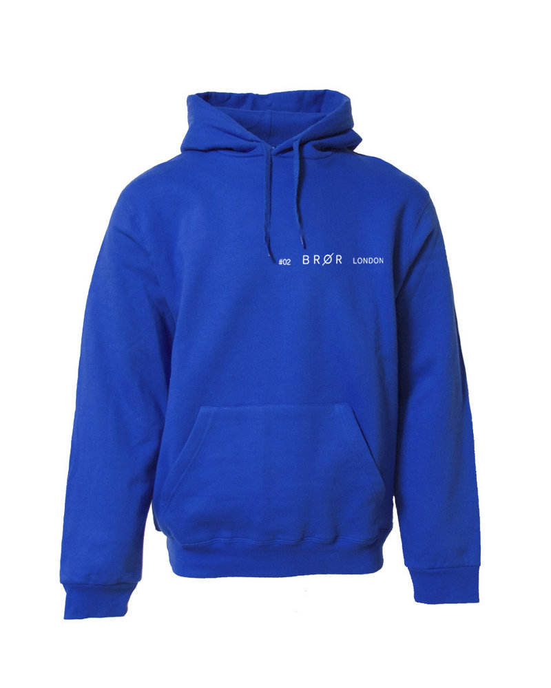 BROR Blue hoodie London ticket