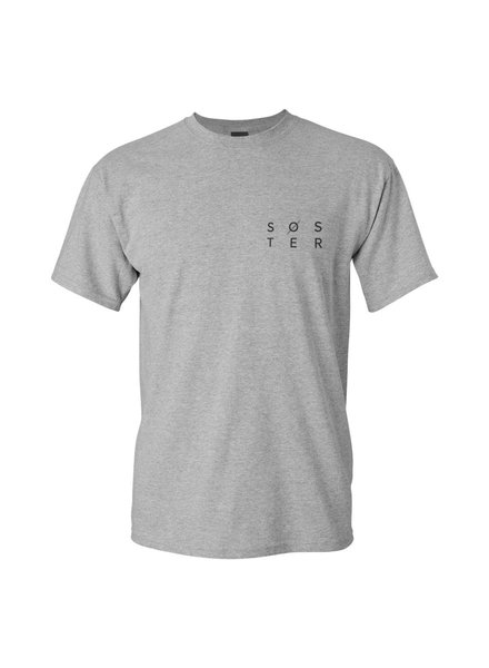 SOSTER Grey Shirt Men