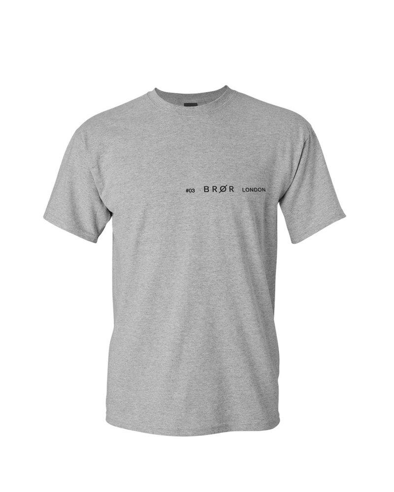 BROR Grey London Shirt